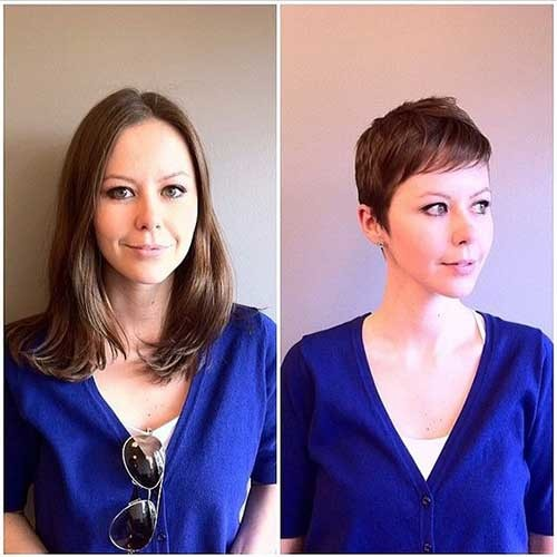 Amazing-Before-and-After-Haircut Before and After Pics of Short Haircuts