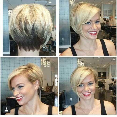 Asymmetrical-Pixie-Bob Best Short Bob Haircuts for Women