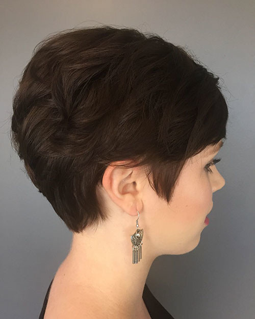 Casual-Pixie-Hair Best Short Pixie Hairstyles 2018