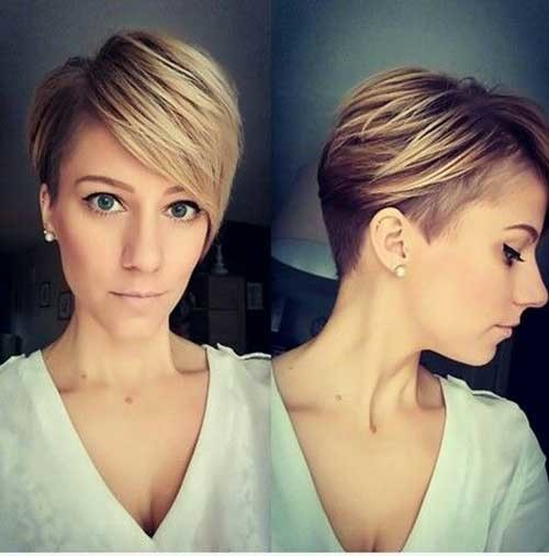 Classy-Hairstyle Latest Short Hairstyles with Fine Hair