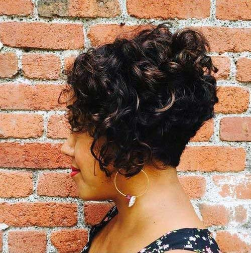 Curly-Bob-Hair Best Curly Short Hairstyles