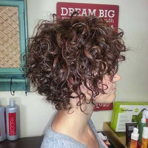 Curly-Hair Best Curly Short Hairstyles