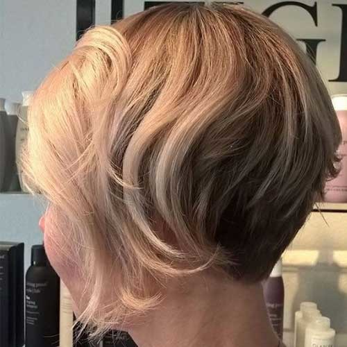 Cute-Blonde-Bob-Hairstyle Chic Blonde Bob Hairstyles for Women