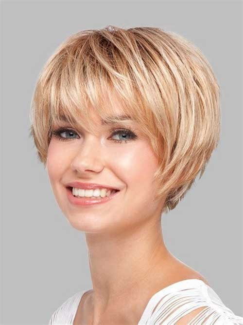 Cute-Pixie Latest Short Hairstyles with Fine Hair