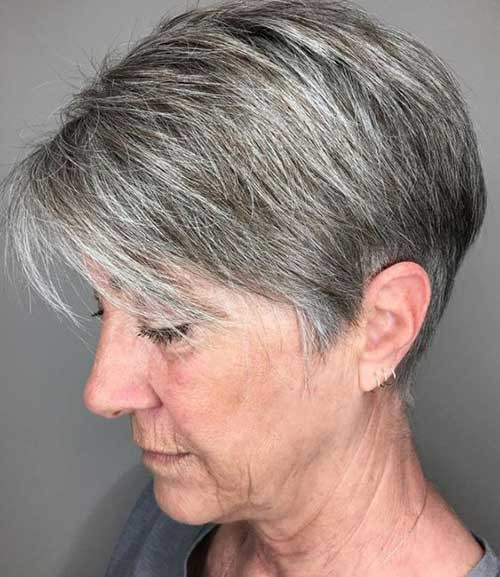 Fine-Pixie Classy Pixie Haircuts for Older Women