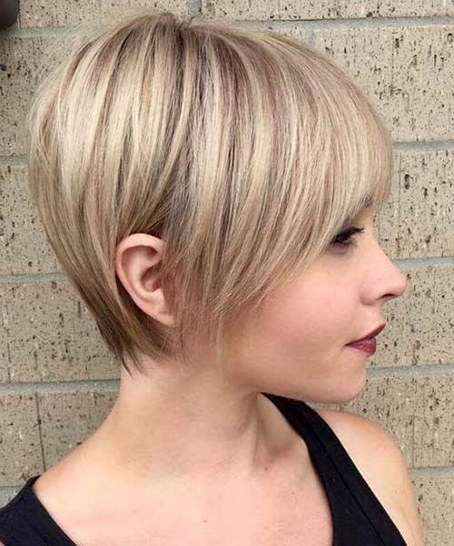 Fine-Short-Hair Latest Short Hairstyles with Fine Hair