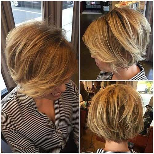 Krissa-Fowles-Hair Best Short Bob Haircuts for Women