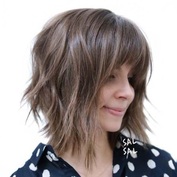 Long-Choppy-Bob-with-Bangs-www.sexvcl.net-008 Bob Hairstyles for 2018