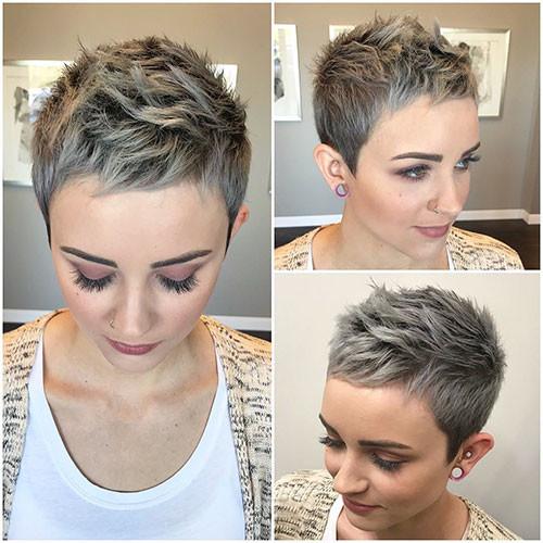 Short-Pixie-Hair Best Short Pixie Hairstyles 2018