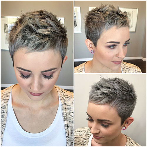 Short-Pixie-Hair Best Short Pixie Hairstyles 2018