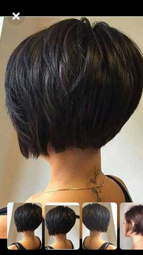 Side-Parted-Short-Bob-Haircut Best Short Bob Haircuts for Women