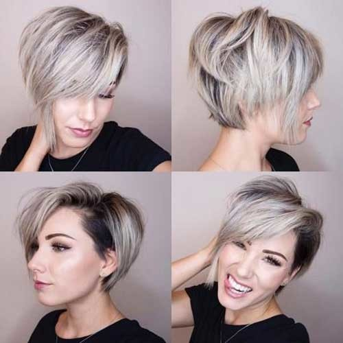 Stacked-Bob-Hairstyle Best Short Bob Haircuts for Women