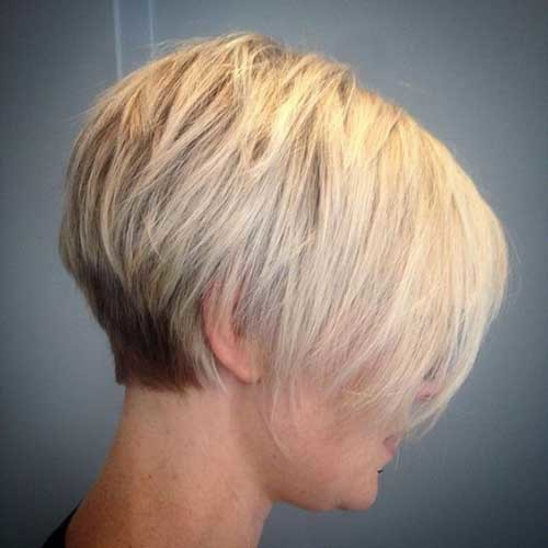Very-Short-Bob-Haircut-for-Fine-Hair Latest Short Hairstyles with Fine Hair