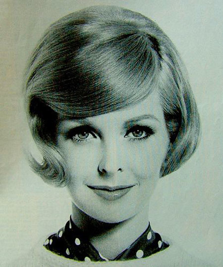 1960's-Bob-Hairstyle 1960's Short Hairstyles