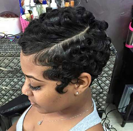 44-Short-Pixie-Hairstyles-for-Black-Women Best Short Pixie Hairstyles for Black Women 2018 – 2019