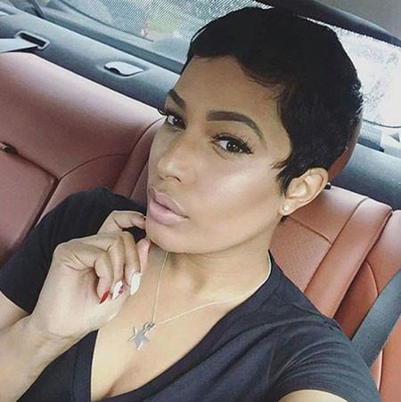 59-Short-Pixie-Hairstyles-for-Black-Women Best Short Pixie Hairstyles for Black Women 2018 – 2019