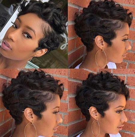 78-Short-Pixie-Hairstyles-for-Black-Women Best Short Pixie Hairstyles for Black Women 2018 – 2019