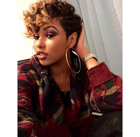 79-Short-Pixie-Hairstyles-for-Black-Women Best Short Pixie Hairstyles for Black Women 2018 – 2019