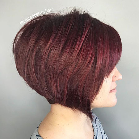 Angled-Bob-Cut Short Bob Haircuts 2019