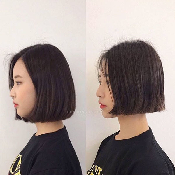 Asian-Bob-Haircut Best New Bob Hairstyles 2019