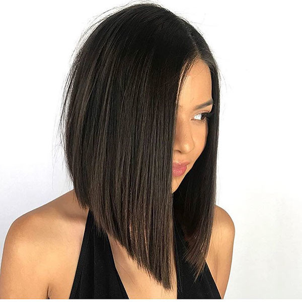 Asymmetrical-Bob-Haircut-2 Best New Bob Hairstyles 2019