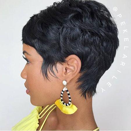 Black-Pixie-Haircut-1 Popular Short Haircuts 2018 – 2019