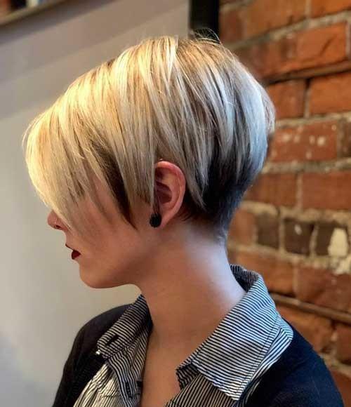 Blonde-Pixie-Bob-Hair-2019 Best Short Haircuts for 2018-2019