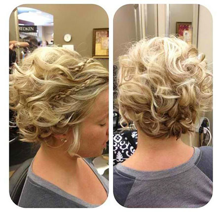 Blonde-Wedding-Hairstyle Wedding Hairstyles for Short Hair