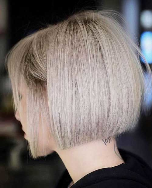 Blunt-Bob-for-Fine-Hair Best Short Haircuts for 2018-2019