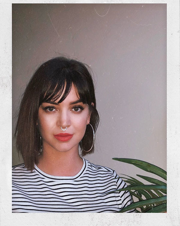Bob-Hairstyle-with-Bangs Best New Bob Hairstyles 2019