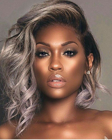 Cabelo-Platinado-Em-Morenas Best Short Hairstyles for Black Women 2018 – 2019
