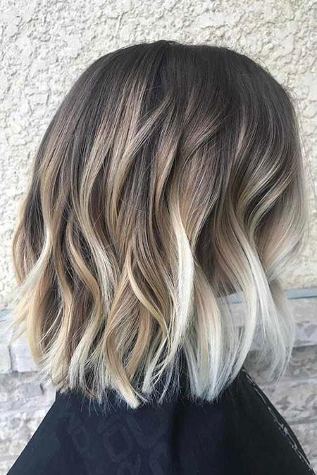 Choppy-Dark Popular Short Haircuts 2018 – 2019