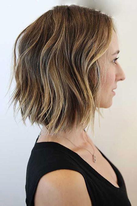 Choppy-Hair Trendy Short Hairstyles 2019