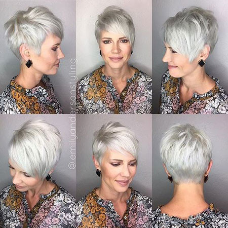 Choppy-Pixie-Cut Best Pixie Haircuts for Over 50 2018 – 2019
