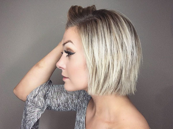 Cropped-Bob-Haircut Best New Bob Hairstyles 2019