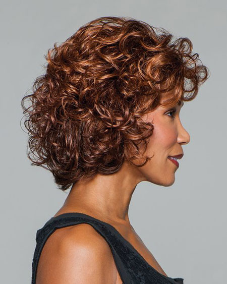 Curly-Bob-Hairstyles Popular Short Curly Hairstyles 2018 – 2019