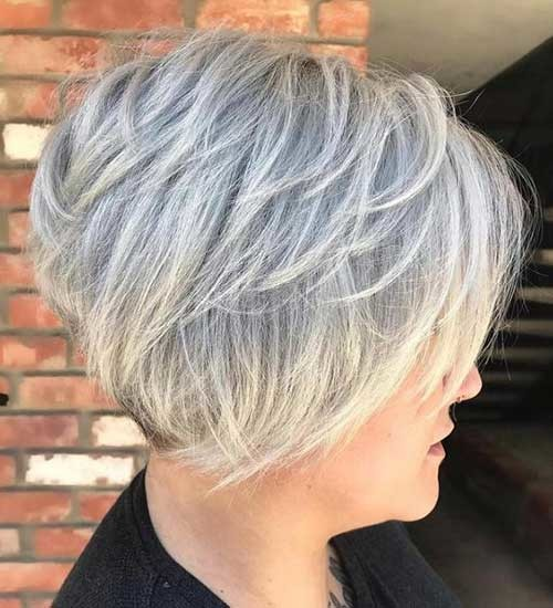 Cute-Bob Charming Stacked Short Haircuts for Women
