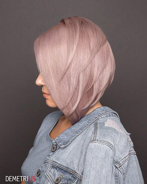 Cute-Hair-Color Short Layered Haircuts 2018 – 2019