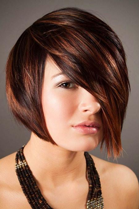 Cute-Hairstyle-1 Hair Color Ideas for Short Haircuts