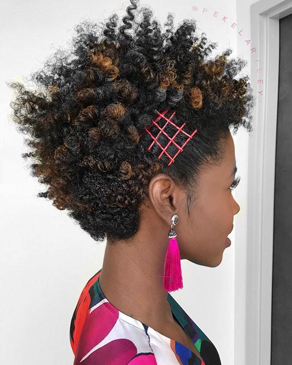 Cute-Short-Hairstyles Short Haircuts for Black Women 2019