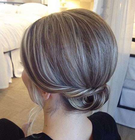 Elegant-Upstyle-for-Short-Hair Upstyles for Short Hair