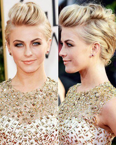 Faux-Hawk-Updo-for-Short-Hair Upstyles for Short Hair