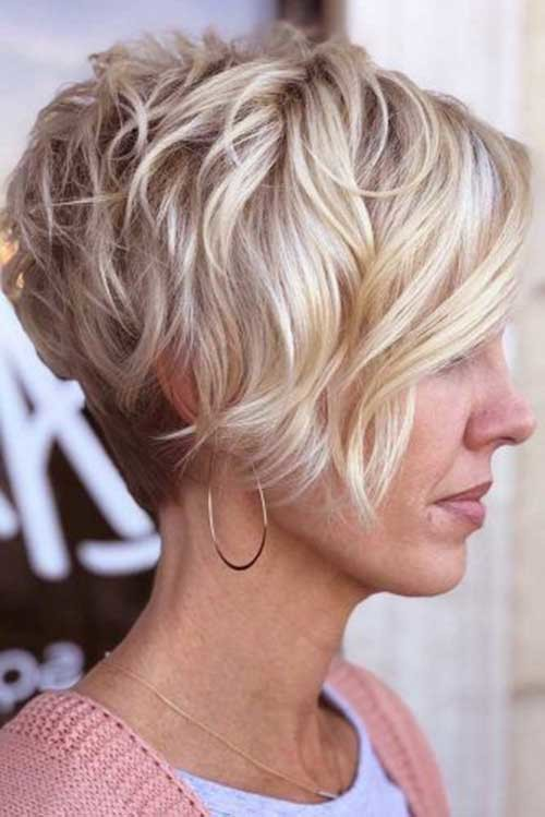 Graduated-Hair-2018 Charming Stacked Short Haircuts for Women
