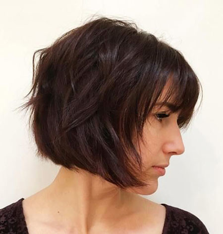 Layered-Bob-1 Short Bob Haircuts 2019