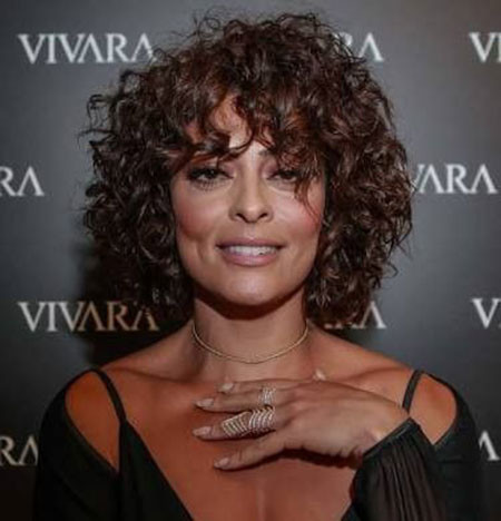 Layered-Curly-Hair-1 Popular Short Curly Hairstyles 2018 – 2019