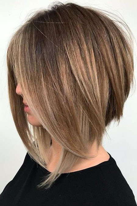 Layered-Hairstyle Popular Short Haircuts 2018 – 2019