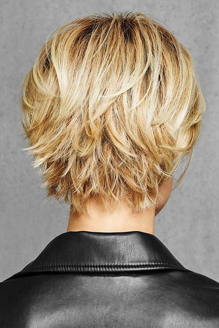 Layered-Pixie-Hairstyle Best Pixie Haircuts for Over 50 2018 – 2019