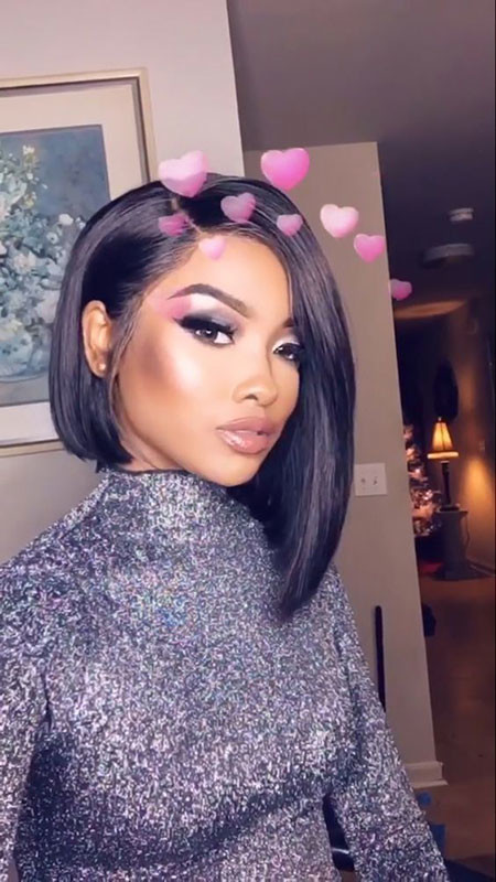 Long-Bob-Hair Best Short Hairstyles for Black Women 2018 – 2019