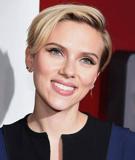 Long-Pixie Scarlett Johansson Short Hairstyles
