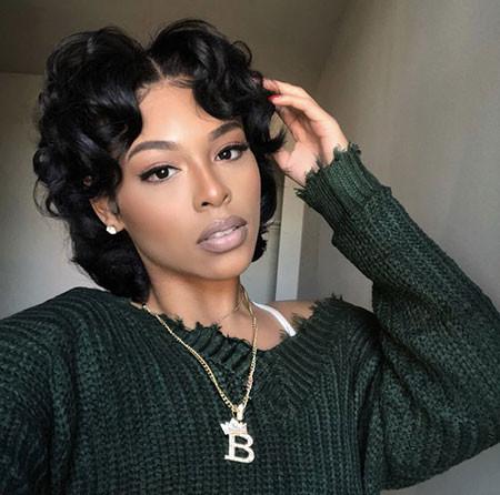 Natural-Hair Best Short Hairstyles for Black Women 2018 – 2019